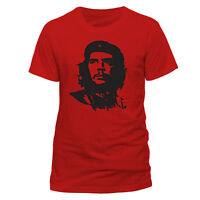 Official Che Guevara T Shirt Red  NEW S M L XL XXL Unisex Mens