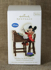 2009 Hallmark Keepsake Ornament Mickey As Bob Cratchit Mickey's Christmas Carol
