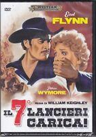 Dvd **IL 7° LANCIERI CARICA** con Errol Flynn nuovo 1950