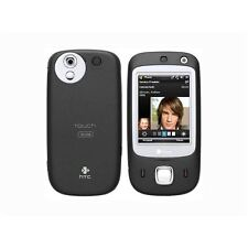 Niki 100 doble HTC Touch Teléfono inteligente Negro (Desbloqueado) (idioma sueco)