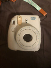 Fujifilm Instax Mini 8 Instant Film Camera (Blue) + Leather Case, And Film