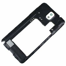 Samsung Galaxy Note 3 N900V N900P White Back Rear Housing Frame Camera Lens New