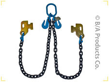 """3/8""""  G100 Cargo Shipping Sea Container Chain Loading Chain Bridle Tow Truck"""