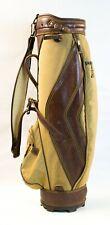 (Ma5) Spalding Vintage Shoulder Carrying Golf Clubs Bag