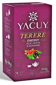 Yacuy Yerba Mate Tea   Various types   Produced in Brazil