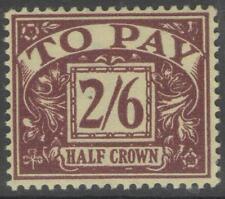 GB SGD34 1938 2/6 PURPLE/YELLOW MTD MINT
