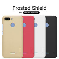 Xiaomi Redmi 6 Nillkin Super Frosted Shield Dust-proof Hard Back Case Cover