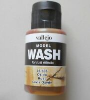 35 ML RUST EFFECTS MODEL WASH BOTTLE VALLEJO HOBBY MODELING ACCESSORY