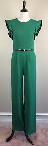Green Women's Calvin Klein JumpSuit Size 4
