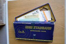 Hi Standard autoloading pistol M - 101 Dura-Matic gun box with paperwork