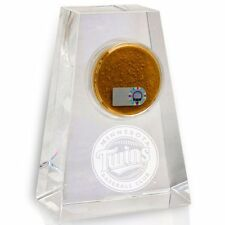 Minnesota Twins Game Used Dirt/Target Field Crystal Display-Best Twins Gift Ever