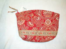 Vera Bradley Large Cosmetic, Windsor Red, Ret.