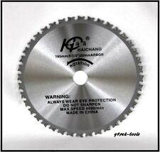 165mm 20mm 40T Metal Cutting TCT Saw Blade for Hilti Makita Hitachi Dewalt