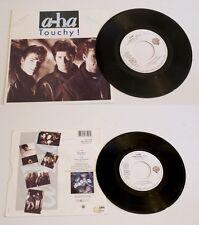 """* A-HA * TOUCHY """"  45 tr (45rpm)  1988  WARNER . VG+"""