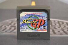 SUPER MONACO GP SEGA GAME GEAR JAP JP JPN TRANSPORT MULTIPLE