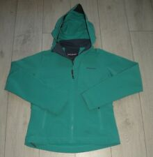 "Patagonia ""M"" Womens Hooded SoftShell Ladies Jacket Stretch *Mint*"