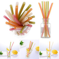 Edible Biodegradable Drinking Straw Rice Straw Bar Tool Cold Drink Straws