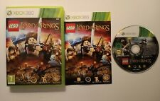 LEGO THE LORD OF THE RINGS XBOX 360 GAME PAL WITH MANUAL