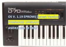 Roland d-70 V 1.19 UPDATE UPGRADE EPROM – [latest os firmware]