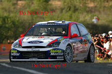 Colin McRae Ford Focus RS WRC 01 Catalunya Rally 2001 Photograph