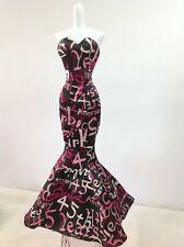 Barbie Silkstone 45th Anniversary Fashion Model Dress Gown w// Rhinestone Cuff