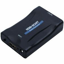 HDMI To SCART Adapter 1080p Video Audio Converter Scaler Smartphone STB DVD Z6S9