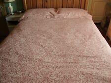 RARE Morris & Co Pure Acorn Cotton Bedding Set - Super King Size - Superb Used