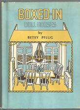 Betsy Pflug BOXED-IN DOLL HOUSES 1971 How to Build own