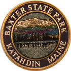 Mountain Patches Baxter State Park Embroidered Hiking Patch