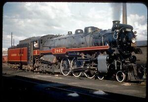151-04 Colour Slide Canadian Pacific Railway 4-6-4 Steam Locomotive #2827