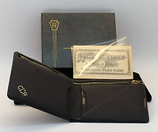 Nos Keystone Railroad Pass Case Wallet Mib Never Used 1940's