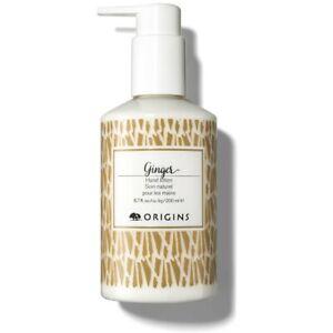 5 X 200ml ORIGINS Ginger Hand cream Lotion moisturiser pump action top
