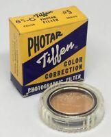 Vintage Tiffen Photar 85-C Photographic Filter Series #5 In Original Box USA
