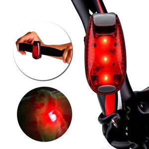 Nachtlauf Joggen Sicherheitswarnung LED Lampe Fahrradhelm Heck RücklichtB YUWP4