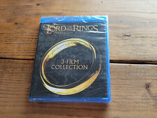 The Lord of the Rings: The Motion Picture Trilogy (Blu-Ray) - New Free Shipping