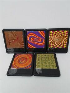 Assorted Optical Illusion Sliding Brain Teaser Classic Puzzle (Set of 3)