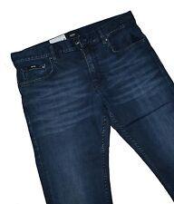 Hugo Boss 50313113 Dark Blue Stretch Denim Charleston Slim Fit Jeans W40 / L32