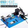 ESD Heat Insulation Soldering Working Mats With Magnetic Silicone Insulation Pad