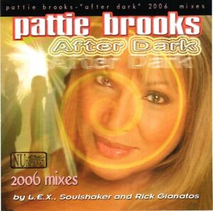Pattie Brooks - After Dark (2006 Mixes) - U.S. CD