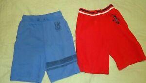 GAP KIDS BOYS SHORTS*athletic fleece*Red*Blue*Medium 8*Drawstring
