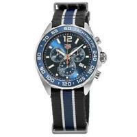 Tag Heuer Men's CAZ1014.FC8197 'Formula 1' Two-Tone Nylon Watch
