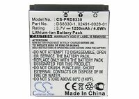 DS8330-1 Battery For PRIMA DS-588, DS-8330, DS-8340, DS-8650, DS-888,1250mAh