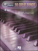 50 Great Songs E Z Play Today Sheet Music Book with Audio Keyboard Organ