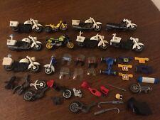 Lot playmobil pièces détachées motos vintage