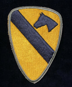 Post WW2 1st Cavalry Division patch