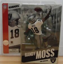 Randy Moss Raiders Series 11 White Jersey McFarlane Sports 012218DBT3