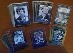 2008 Press Pass Legends Bronze Blue Gold Inserts NASCAR #'d - You Pick the Card