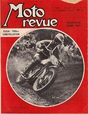 MOTO REVUE . N° 1400 . 19 juillet 1958 . Essai 700 Constellation .