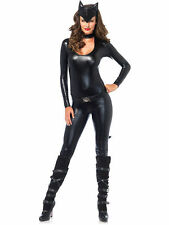Feline Femme Fatale Catwoman Costume for Women size L New by Leg Avenue 83767