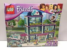 LEGO Friends 41318 Heartlake Hospital - NEW, in a Damaged Box!! Complete!!